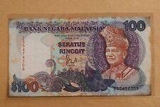 MALAYSIA JAFFAR HUSSEIN RM100 BANK NOTE ( ZS5474309)