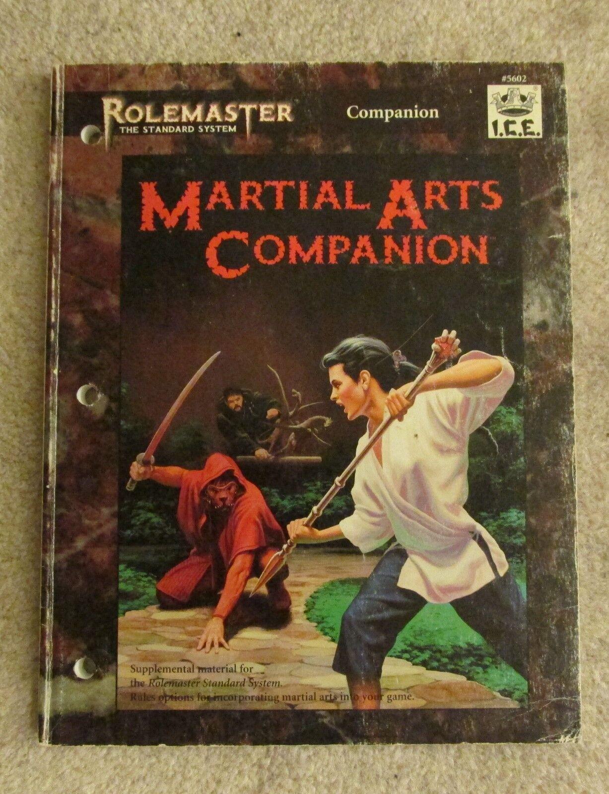 Rolemaster Artes Marciales compañero Libro De Rol Dungeons & Dragons
