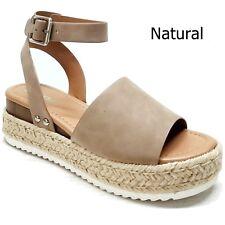 f5bbde62023 item 6 New Women Platform Flatform Espadrille Wedge Sandals Open Toe -New  Women Platform Flatform Espadrille Wedge Sandals Open Toe