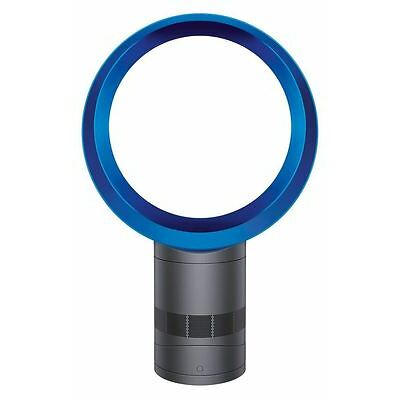 Dyson Cool AM06 Desk Fan Iron/Blue - Refurbished - 1 Year Guarantee