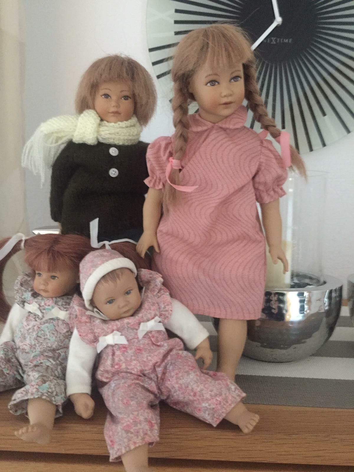 Heidi ott muñeca nº 11 Doll Handmade a mano Baby OVP