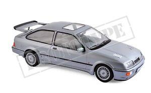 Ford-Sierra-RS-Cosworth-1986-gris-metalizado-1-18-norev-182770-nuevo-amp-OVP