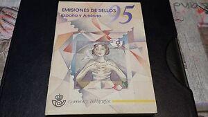 LIBRO-OFICIAL-DE-CORREOS-ESPANA-ANDORRA1995-COMPLETO-OFERTA-UNICA-Y-ESPECIAL