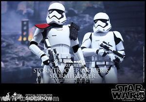 Ensemble d'officier Stormtrooper de premier ordre 1/6 Hot Toys Sideshow Star Wars