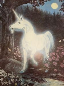 Details about New! Vintage Unicorn Poster distributed by Dargis Associates  Inc. 1970\u0027s NOS!
