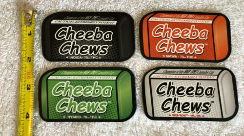 CHEEBA CHEWS Magnets Indica Sativa Hybrid Colorado Cannabis Edible Marijuana 4