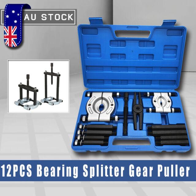 12pcs Bearing Splitter Gear Puller Fly Wheel Separator Set Tool Kit with Box