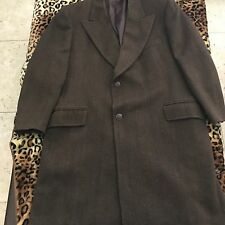 Aut Versace  Classic Coat Made In Italy 52r Ital 46 Us Brown