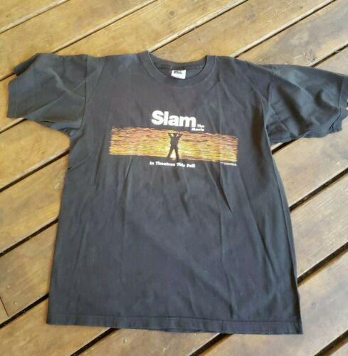 Vintage 1998 Slam Indie Movie Promo Shirt XL Saul