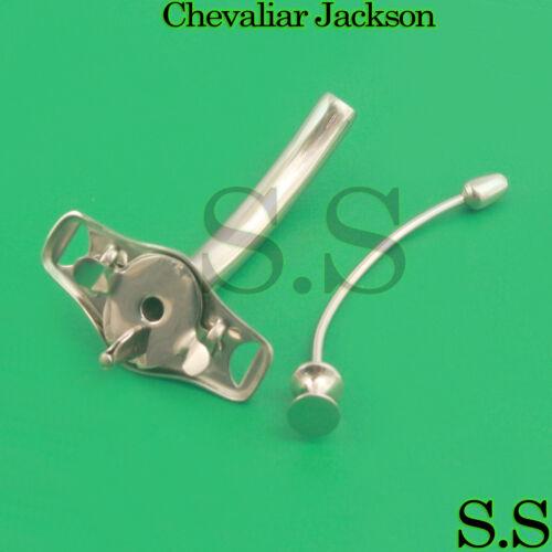 chevaliar jackson tracheostomy tube #10 Tracheotomy Metal ENT surgical InstrumNT