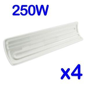 Details Zu 4 X 250w 230v Keramik Infrarot Heizung Element Beheizt Warm Gantry Chip Behalter