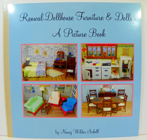 RENWAL PICTURE BOOK Vintage Miniature Dollhouse Furniture Ideal SHIPS FREE