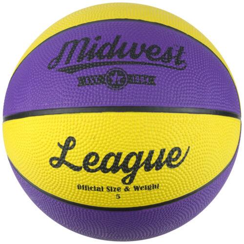Midwest League Basketball Yellow-Purple Ball