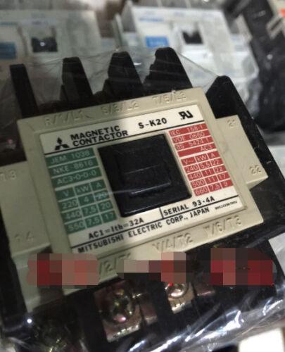 Frt   New  Mitsubishi  S-K20  Ac contactor  free shipping