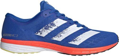 Blue adidas Adizero RC 2 Mens Running Shoes