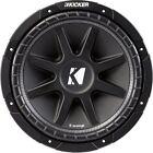 KICKER 43C124 Comp Series 500 Watt 12 Inch Subwoofer - 4 Ohm Voice Coil