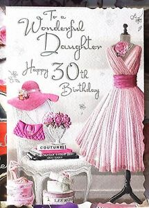 Image Is Loading To A Wonderful Daughter Happy 30th Birthday Beautiful