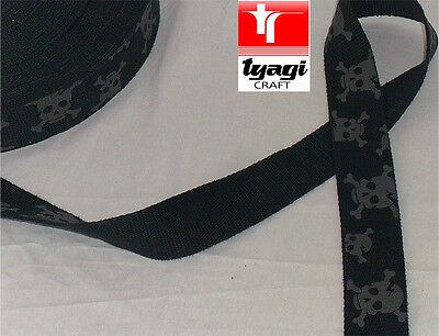 Strong Heavy Color Cotton Webbing Belting Bag Strap Trim Craft Handle Upholestry