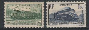 FRANCOBOLLI-1937-FRANCIA-FERROVIE-C-30-1-50-FR-MNH-E-1513