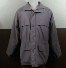 VTG Penfield Rugged Outerwear Thinsulate Gray Winter Coat Jacket Mens Sz L