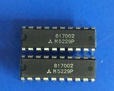 NEW 5PCS M5229P Manu:MITSUBISHI Encapsulation:DIP-20,SILICON PLANAR POWER ZENER
