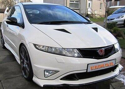 Honda Civic Mugen Style Front Lip / Splitter 06 - 11 FN / FN2 / FK. Primed
