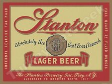 "MARATHON BEER LABEL 9/"" x 12/"" METAL SIGN"