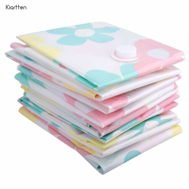 Kiartten Vacuum Storage Bags - 10 pieces in total a variety of sizes - 80% More