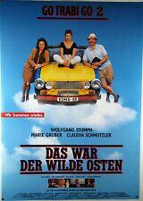 Go Trabi Go 2 - Das war der wilde Osten - Filmplakat DIN A1 (gerollt)