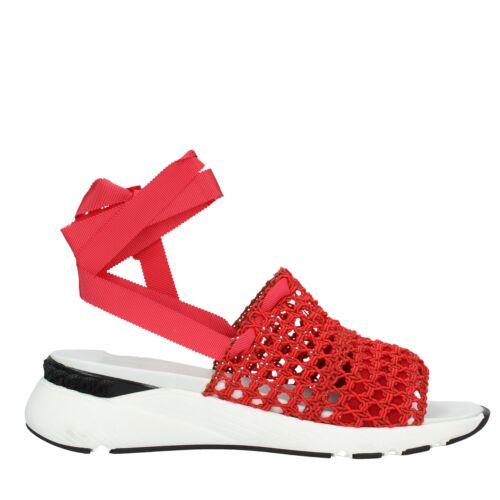 Nv56 Chaussures Femme Rouge Casadei Sandales YD2I9EHeW
