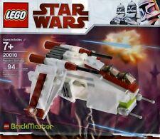 LEGO Star Wars Clone Wars - Rare - Brickmaster - Republic Gunship 20010 - New
