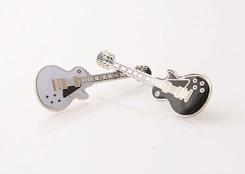 Gibson Les Paul Custom Style Pin Badge