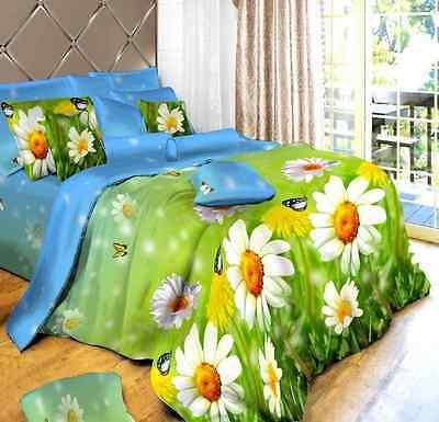 3D Duvet Cover Pillow Case Quilt Cover Bedding Set Single Queen King 3 Ps Sizes