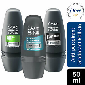 6 Pack Dove Men+Care 48H Powerful Protection Anti-Perspirant Roll-On, 50ml