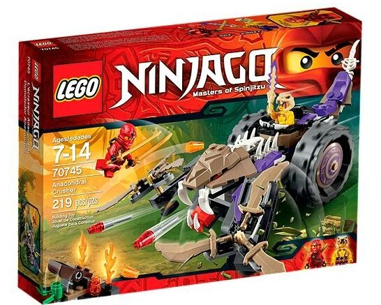 Lego Ninjago - Anacondrai Crusher - 70745
