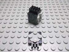 Lego 5 Drehscheiben 2x2 schwarz mit Scharnier 251c01 Set 6662 6404 6022 6268