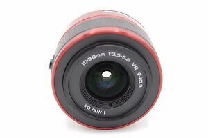 Nikon-1-Nikkor-VR-10-30mm-f-3-5-5-6-Zoom-Lens-for-NIKON-1-Camera-RED