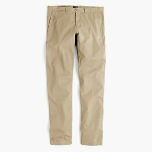 d823c2fbc4b5 J.Crew 484 Slim-fit lightweight garment-dyed stretch chino Lt Khaki ...