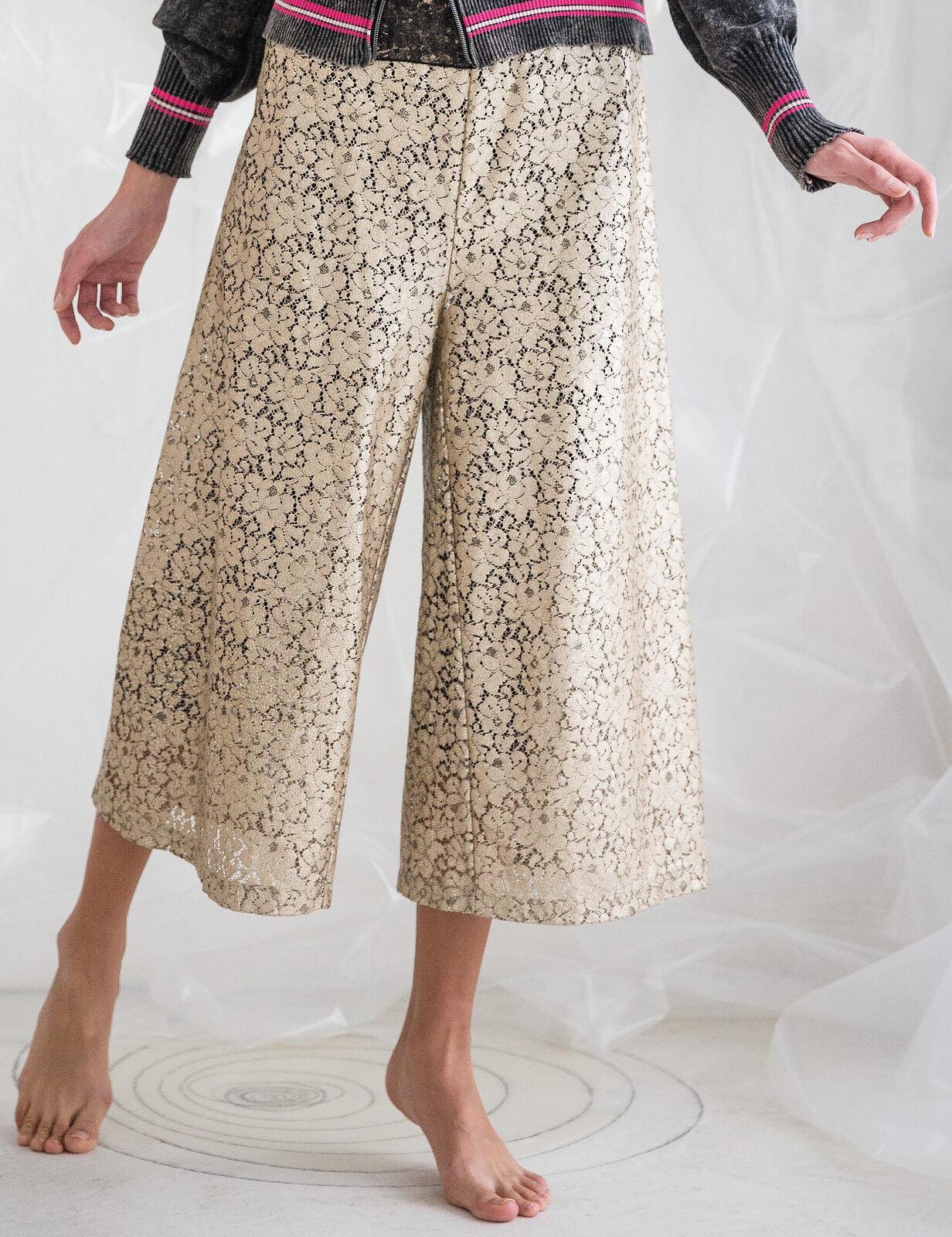 ELISA CAVALETTI Spitzenhose Trousers Jazz Gr. S, M Koll. HW17 18