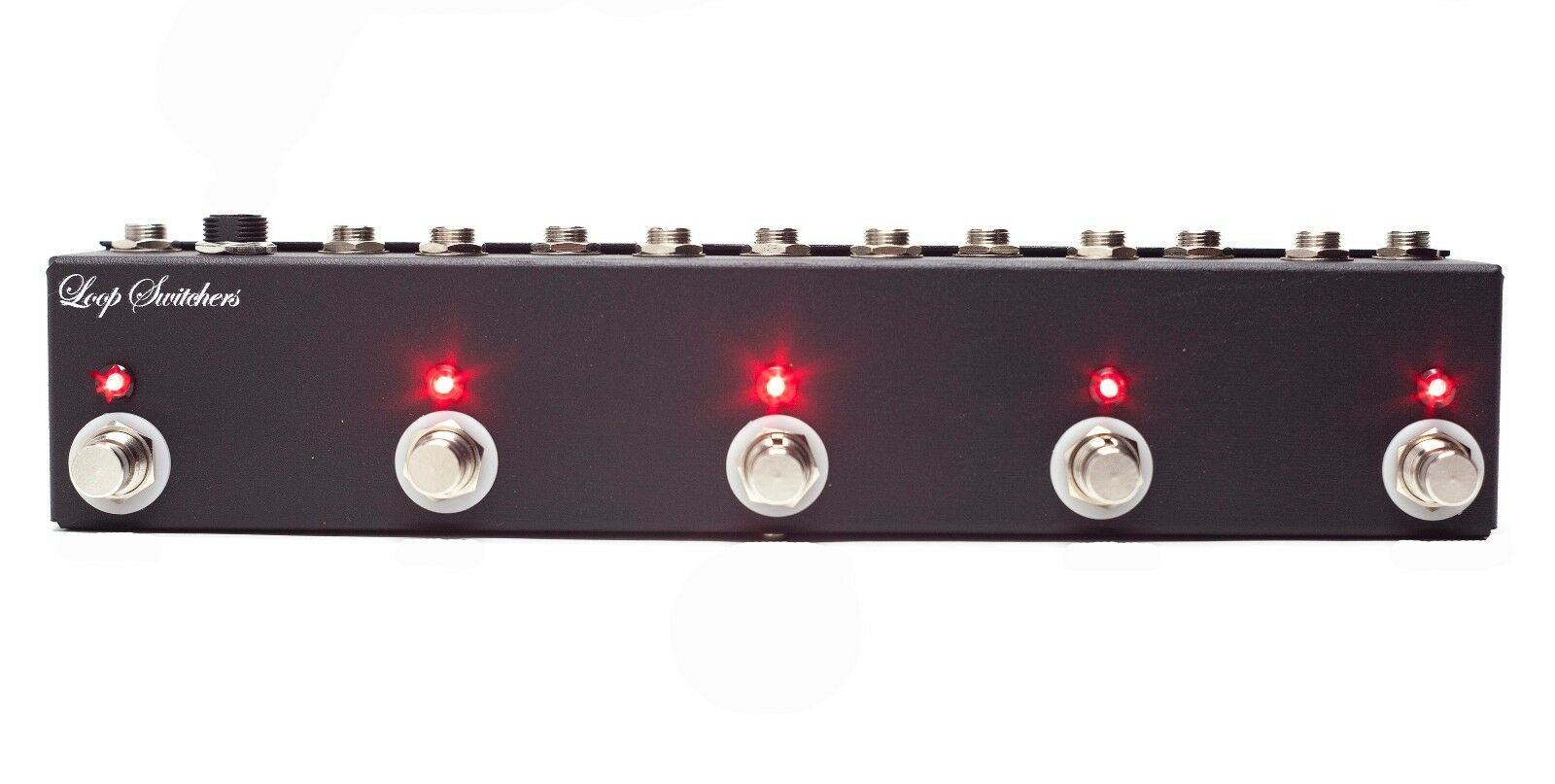 LOOP SWITCHERS 5 CHANNEL TRUE BYPASS SWITCH MASTER LOOPER