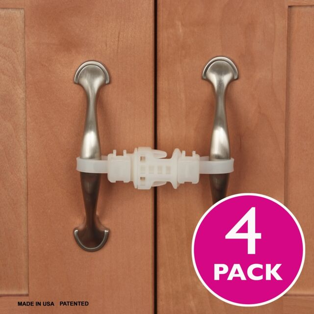 Kiscords Home & Kitchen Features Baby Safety Cabinet Locks for Handles  Child RV