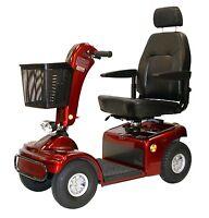 Shoprider Sprinter Xl4 Wheel Electric Scooter 889b-4 + Free Accessories