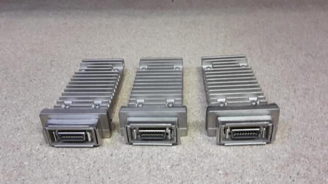 Drei Cisco x2-10gb-cx4 Transceiver Modul 10-2105-03