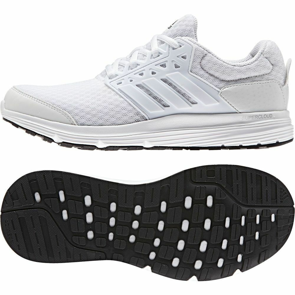 Femme Adidas Galaxy 3 fonctionnement Fitness Gym Baskets-