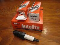 6- Autolite 765 Spark Plugs