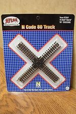 ATLAS N SCALE 90 degree CROSSING TRACK CODE 80