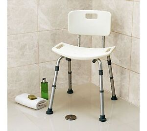 Drive Medical Bath And Shower Stool With Backrest Ebay