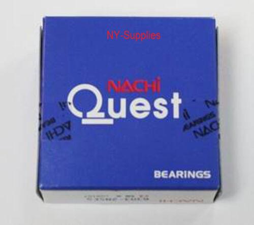 6206-2NSE9 NACHI Bearing with Seals 6206-2RS bearings 6206 RS Japan 30×62×16