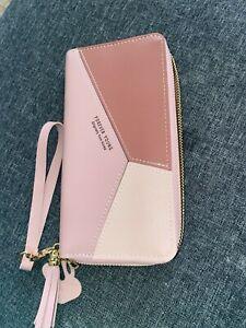 Geometric Luxury Women Leather Zipper Wallet Coin Purses Card Holder