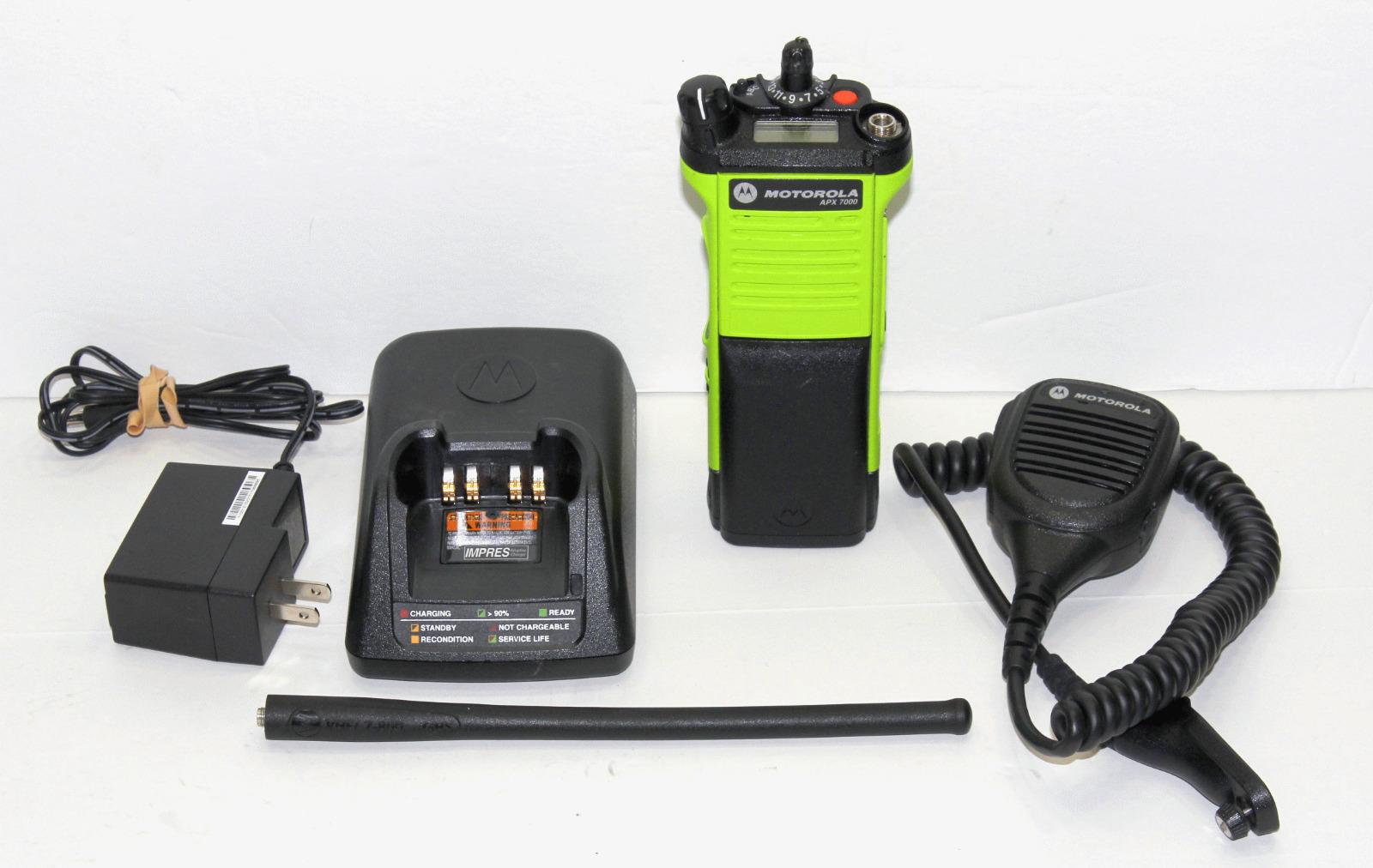Seller refurbished TESTED MOTOROLA APX7000 APX 700/800 VHF 136-174 MHZ DIGITAL RADIO P25 TDMA AES .